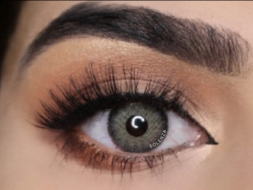 Solenza Silk Gray Colored Contacts