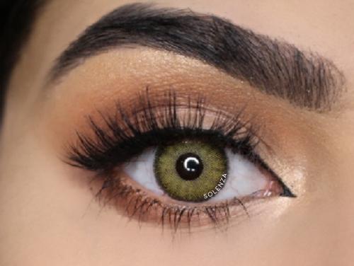 Solenza Silk Hazel Colored Contacts